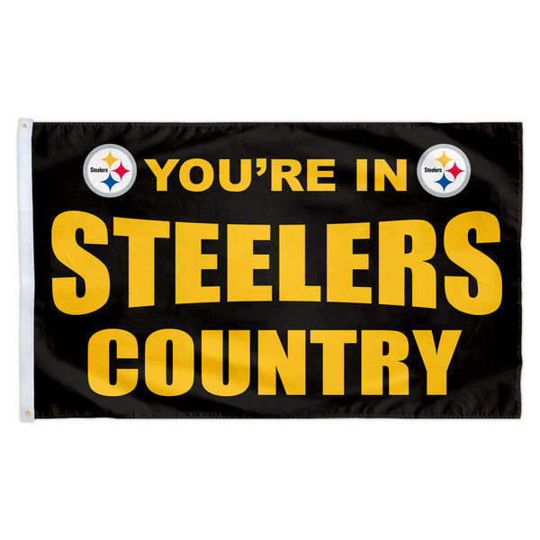 Pittsburgh Steelers 3X5 Country Flag