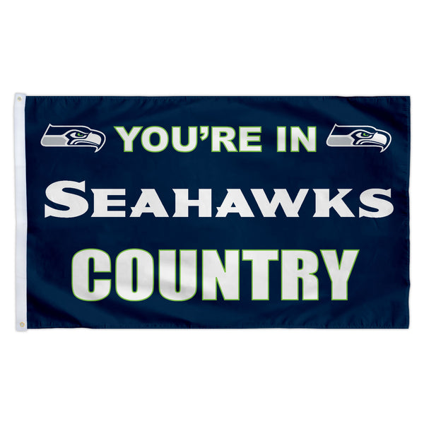 Seattle Seahawks 3X5 Country Flag