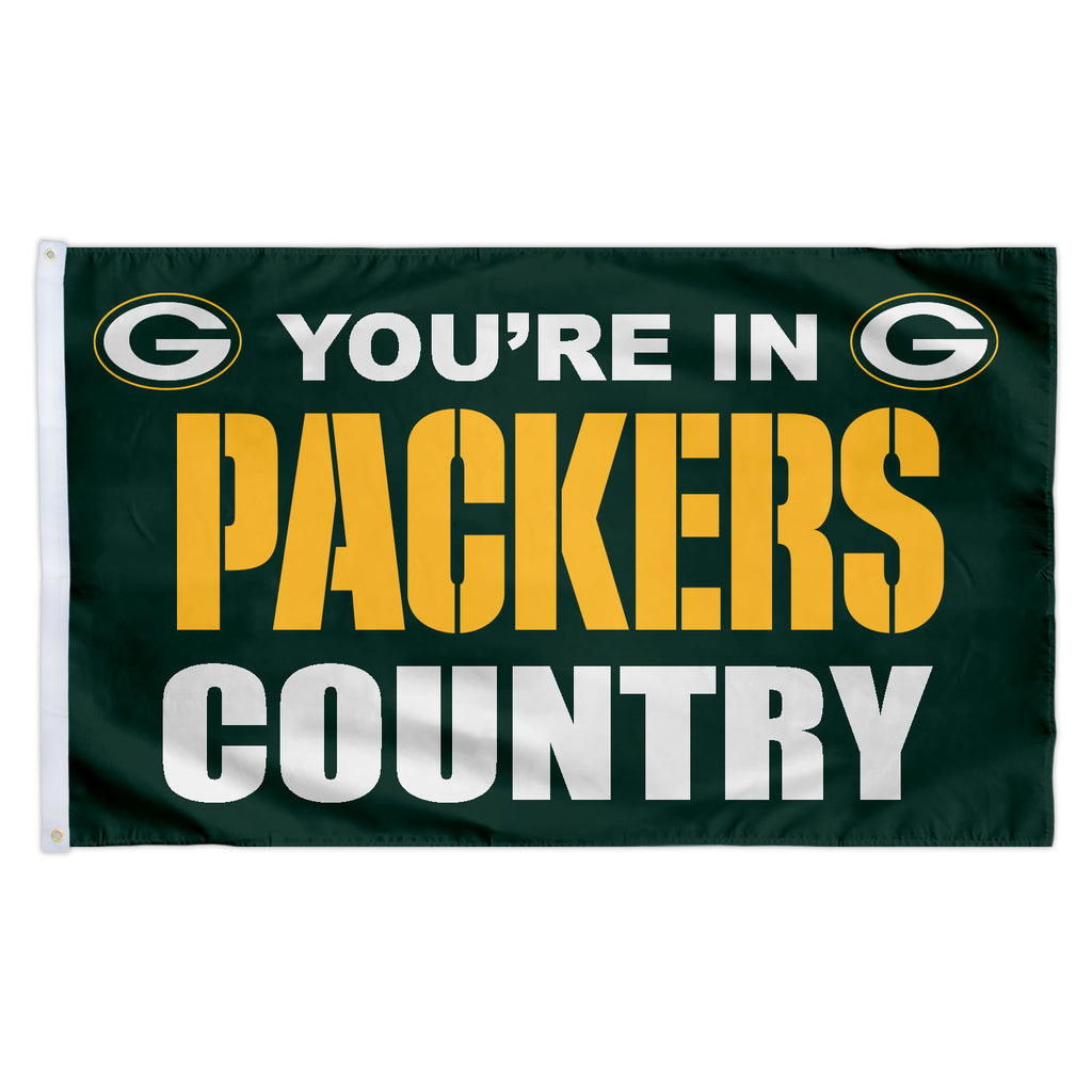 Green Bay Packers 3X5 Country Flag