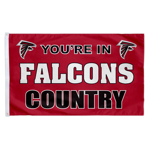 Atlanta Falcons 3X5 Country Flag