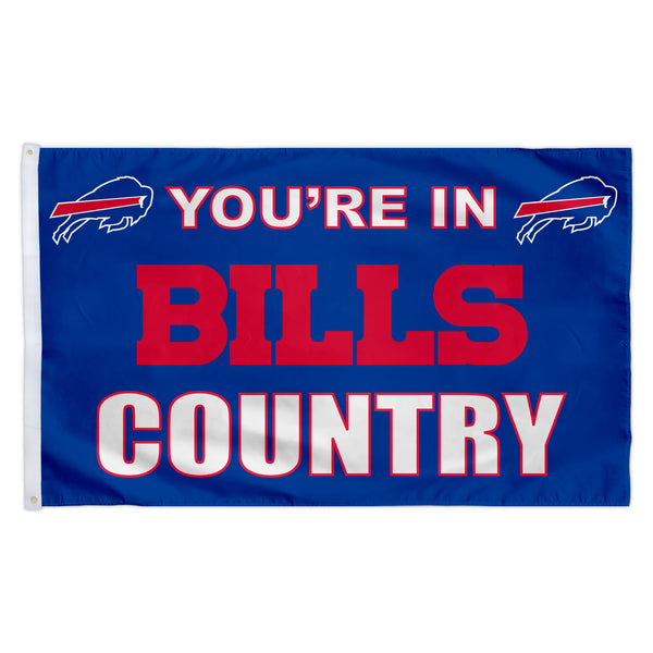 Buffalo Bills 3X5 Country Flag