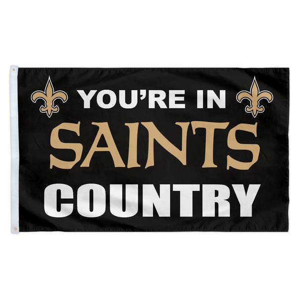 New Orleans Saints 3X5 Country Flag