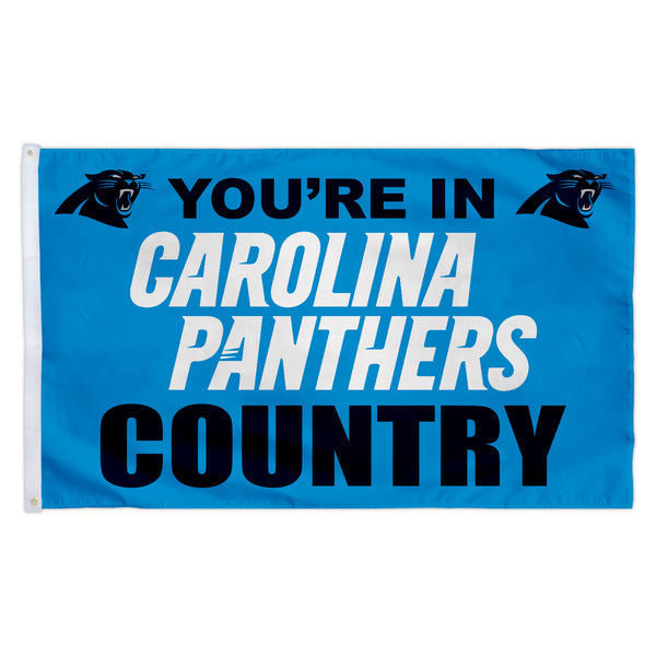Carolina Panthers 3X5 Country Flag