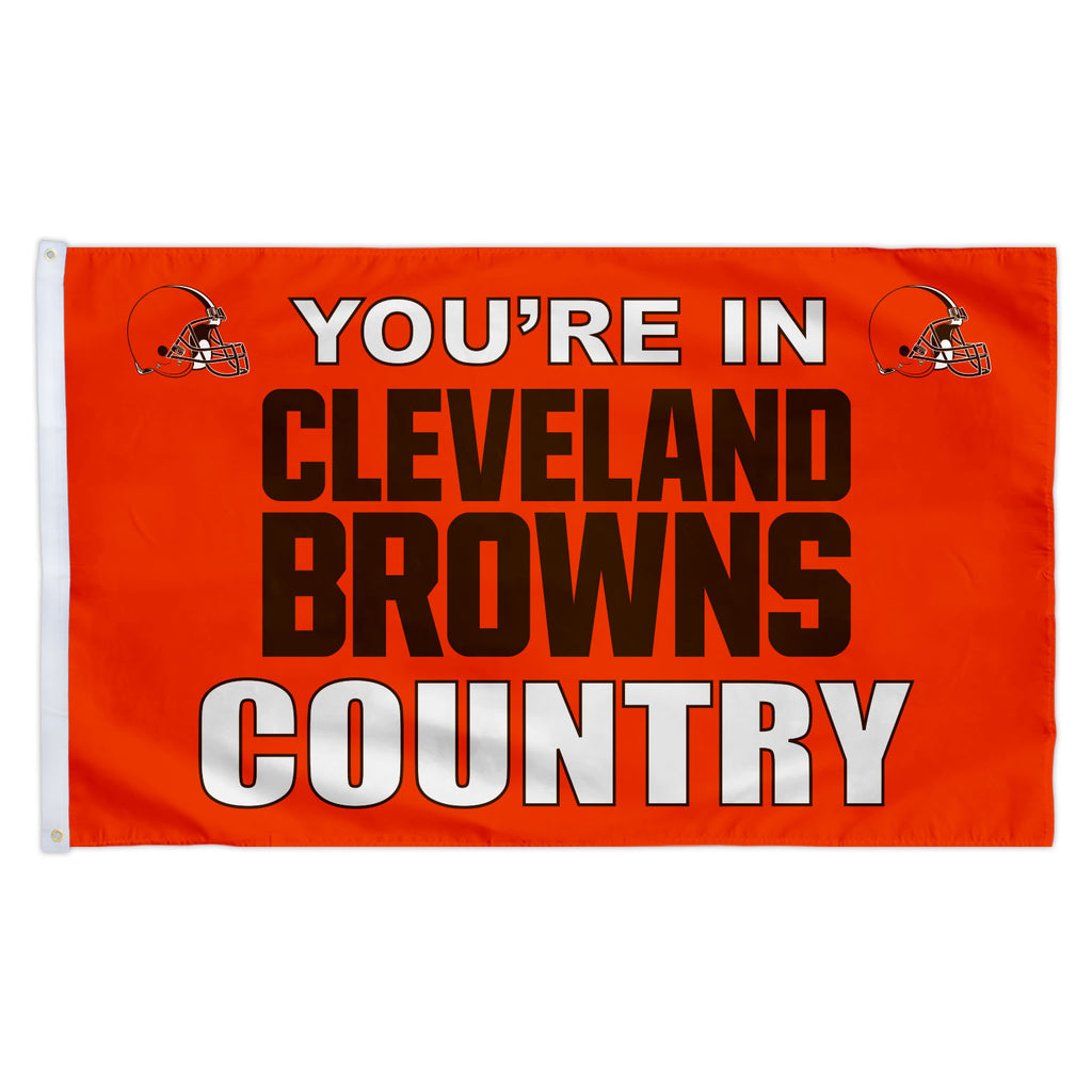 Cleveland Browns 3X5 Country Flag