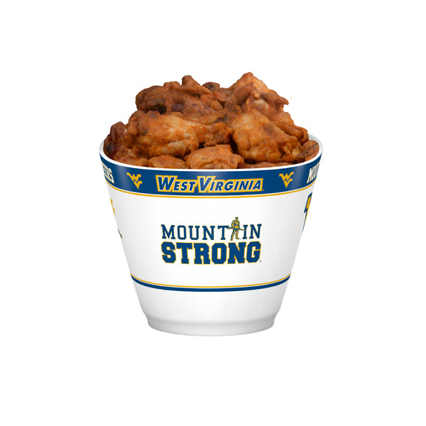 West Virginia Mountaineers MVP Bowl With Wings