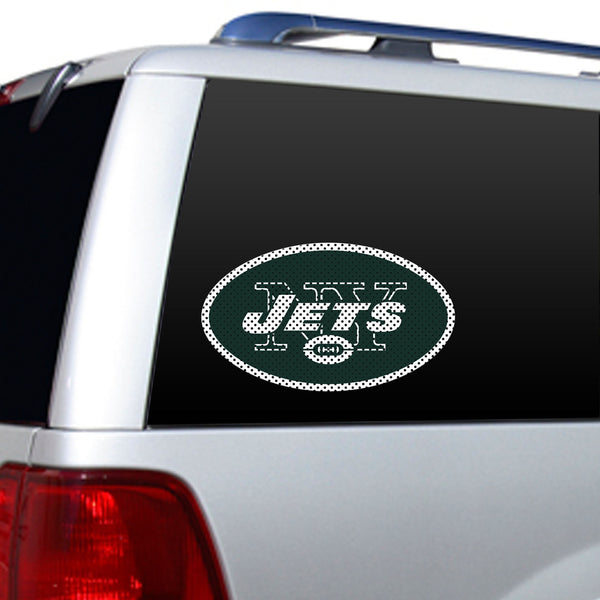 NFL NEW YORK JETS LARGE WINDOW FILM