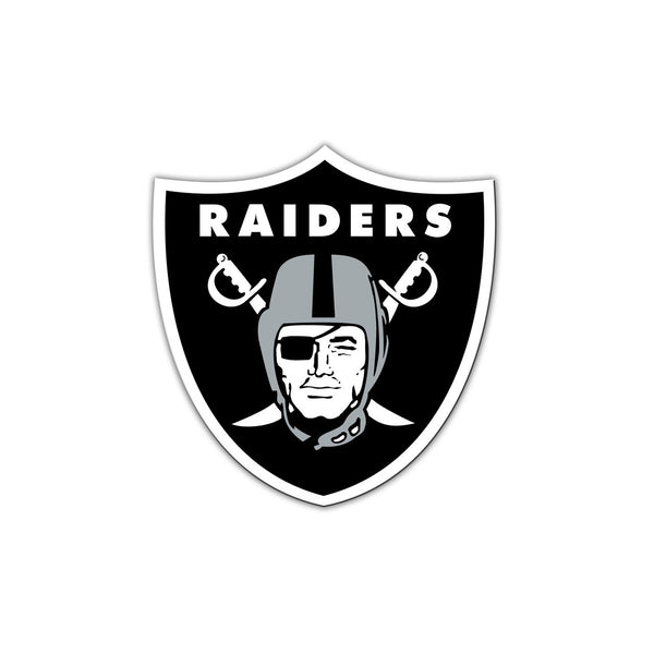 "NFL OAKLAND RAIDERS 8"" MAGNET"