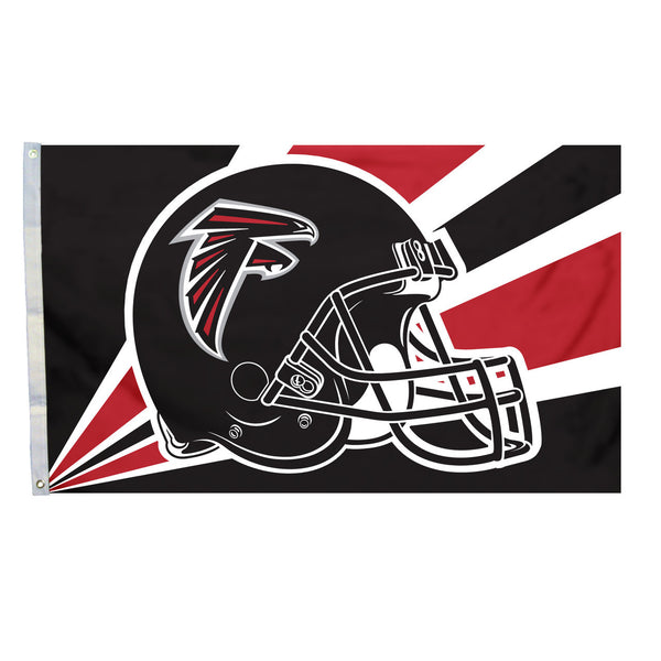 NFL ATLANTA FALCONS HELMET 3' X 5' FLAG
