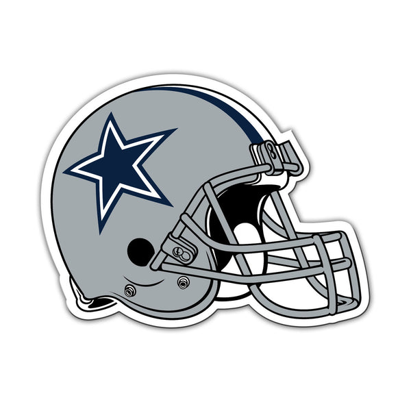 "NFL DALLAS COWBOYS 8"" HELMET MAGNET"