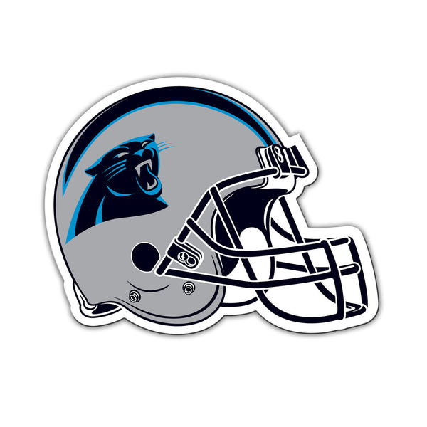 "NFL CAROLINA PANTHERS 8"" HELMET MAGNET"