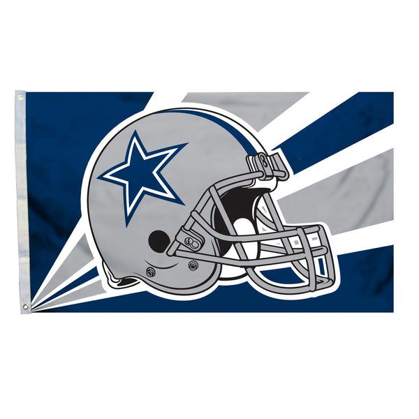 NFL DALLAS COWBOYS HELMET 3' X 5' FLAG
