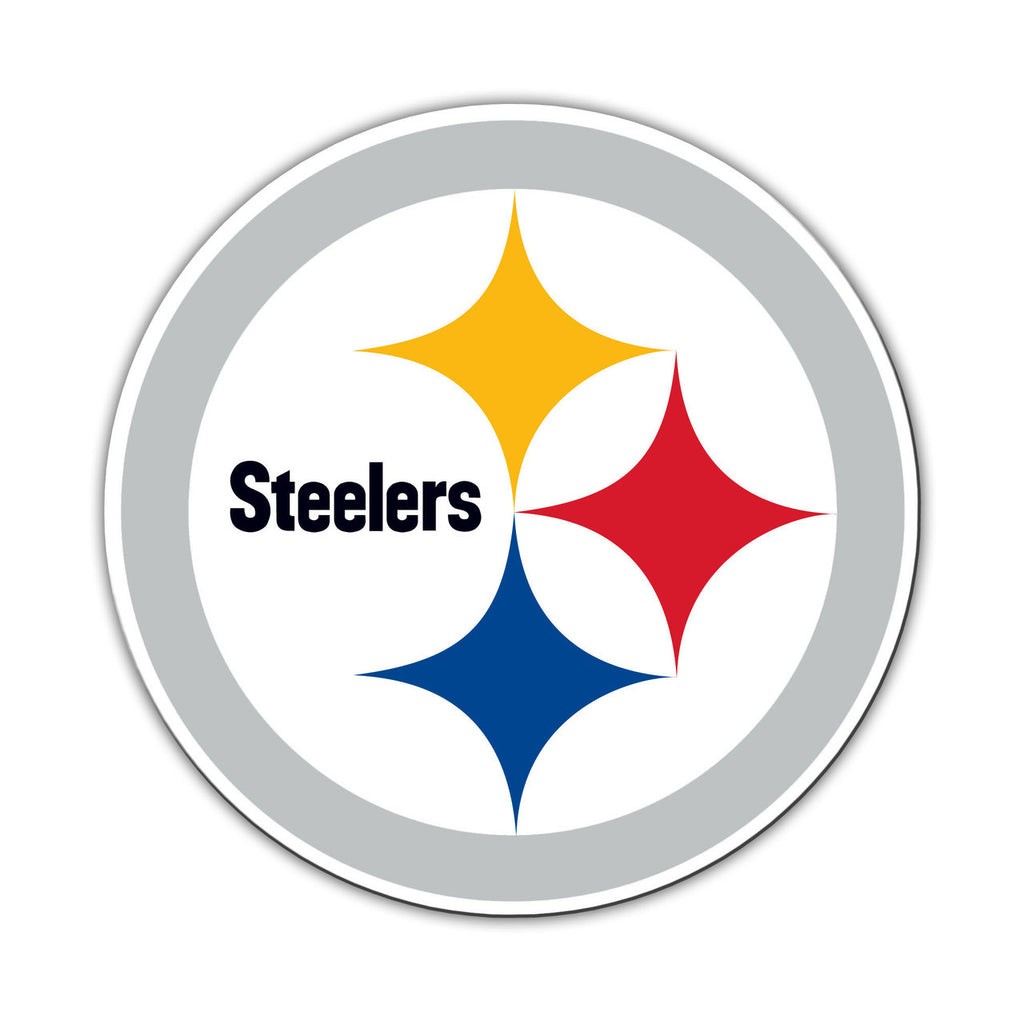 "NFL PITTSBURGH STEELERS 12"" MAGNET"