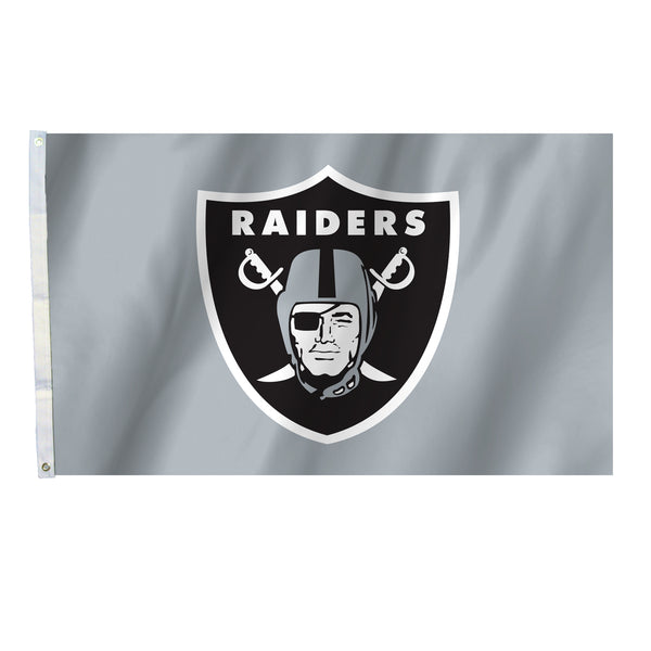 NFL OAKLAND RAIDERS ALL PRO 3' X 5' FLAG (GRAY)