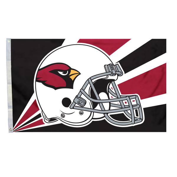 NFL ARIZONA CARDINALS HELMET 3' X 5' FLAG