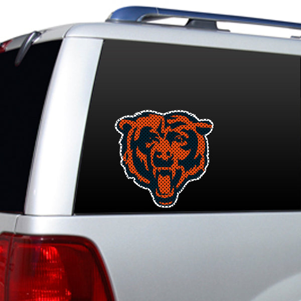 NFL CHICAGO BEARS LARGE WINDOW FILM