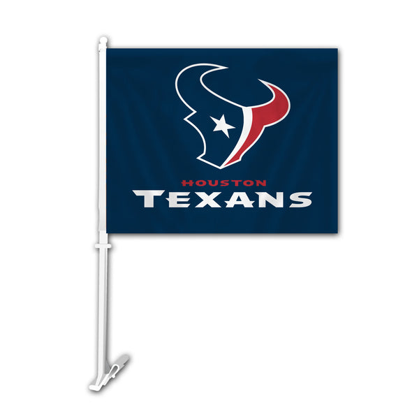 NFL HOUSTON TEXANS CAR FLAG