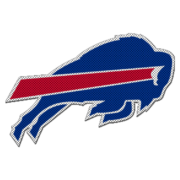 NFL BUFFALO BILLS LARGE WINDOW FILM