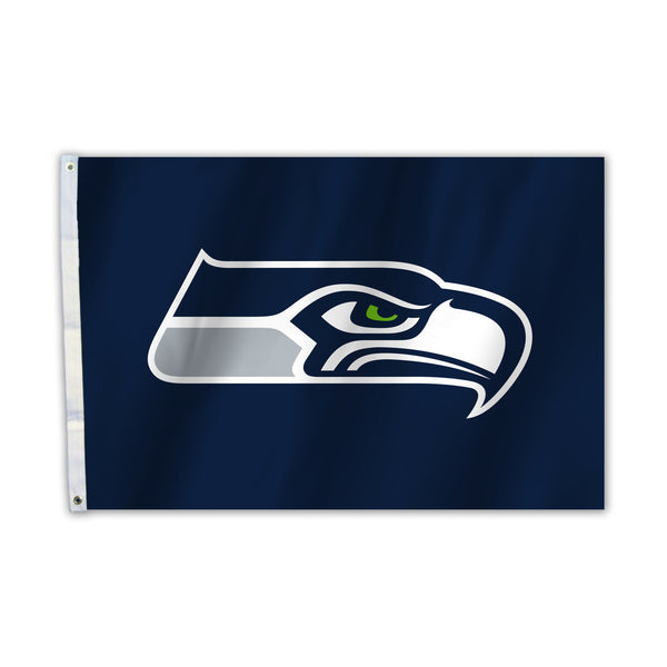 NFL SEATTLE SEAHAWKS 2X3 FLAG