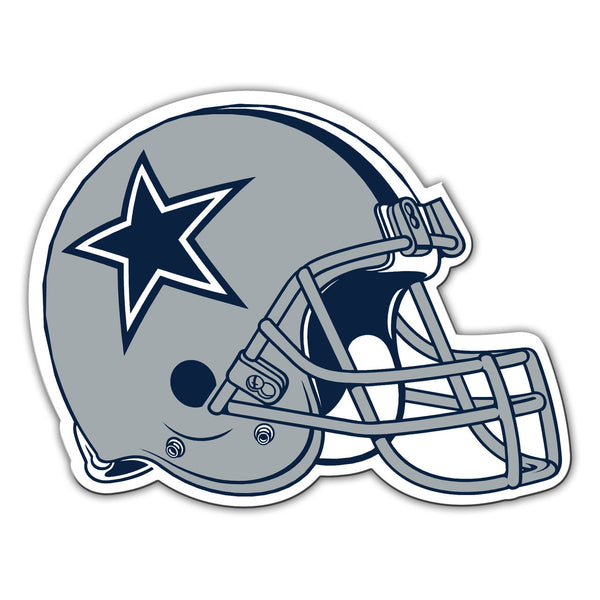 "NFL DALLAS COWBOYS 12"" HELMET MAGNET"