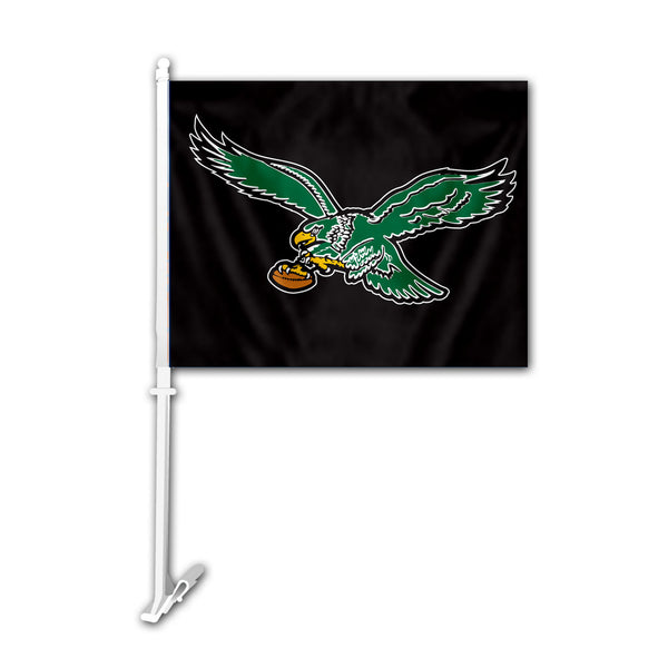 NFL PHILADELPHIA EAGLES RETRO CAR FLAG
