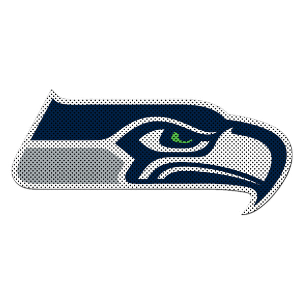 NFL SEATTLE SEAHAWKS LARGE WINDOW FILM
