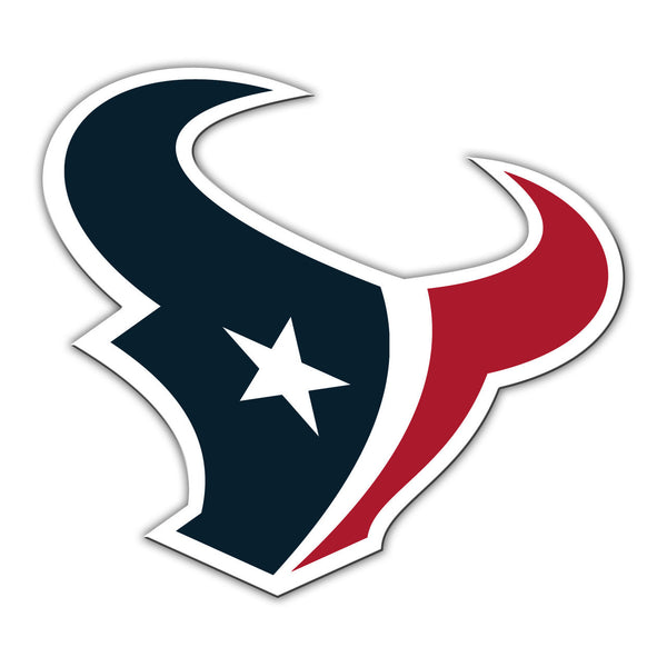 "NFL HOUSTON TEXANS 12"" MAGNET"