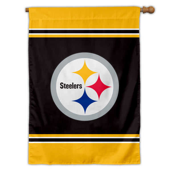 Pittsburgh Steelers House Flag (1-Sided)