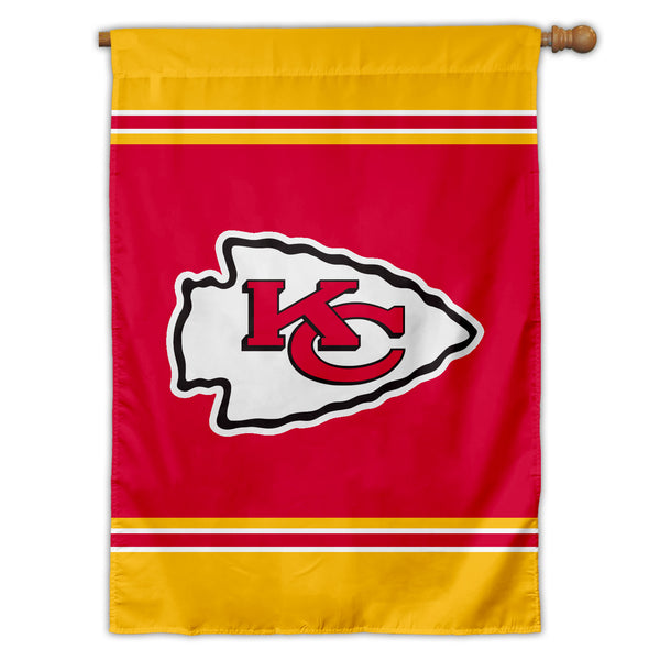 Kansas City Chiefs House Flag (1-Sided)