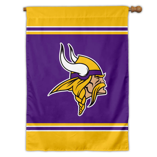 Minnesota Vikings House Flag (1-Sided)