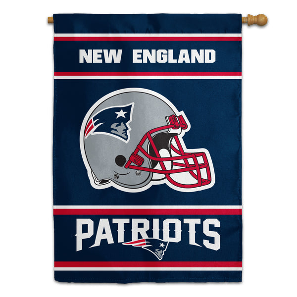 New England Patriots House Flag (2-Sided)