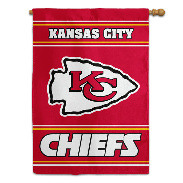 Kansas City Chiefs House Flag (2-Sided)