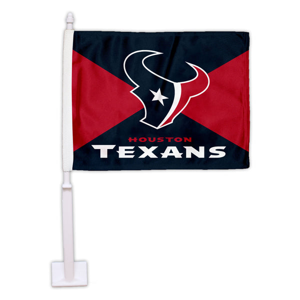 Houston Texans Split Car Flag