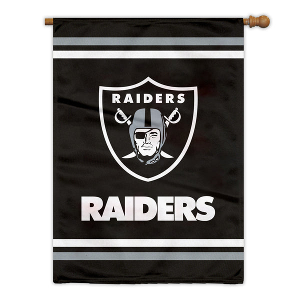 Las Vegas Raiders Premium 2-Sided House Flag (Made in the USA)