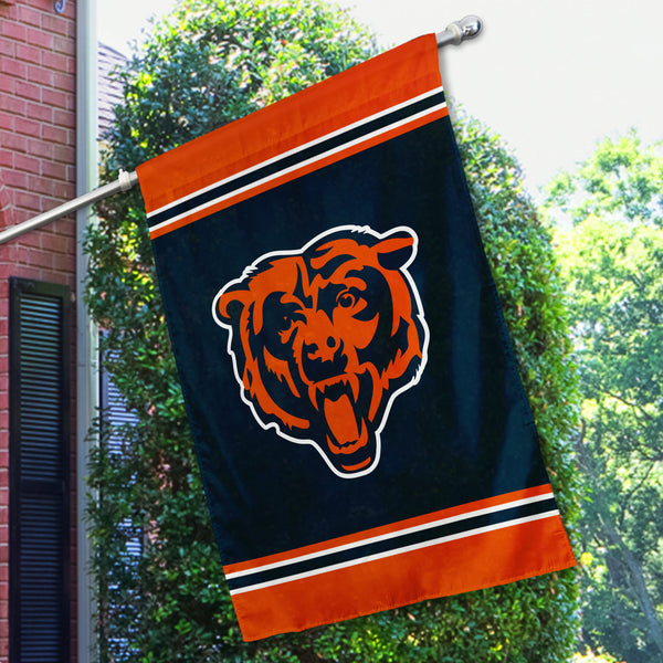 Chicago Bears House Flag (1-Sided)