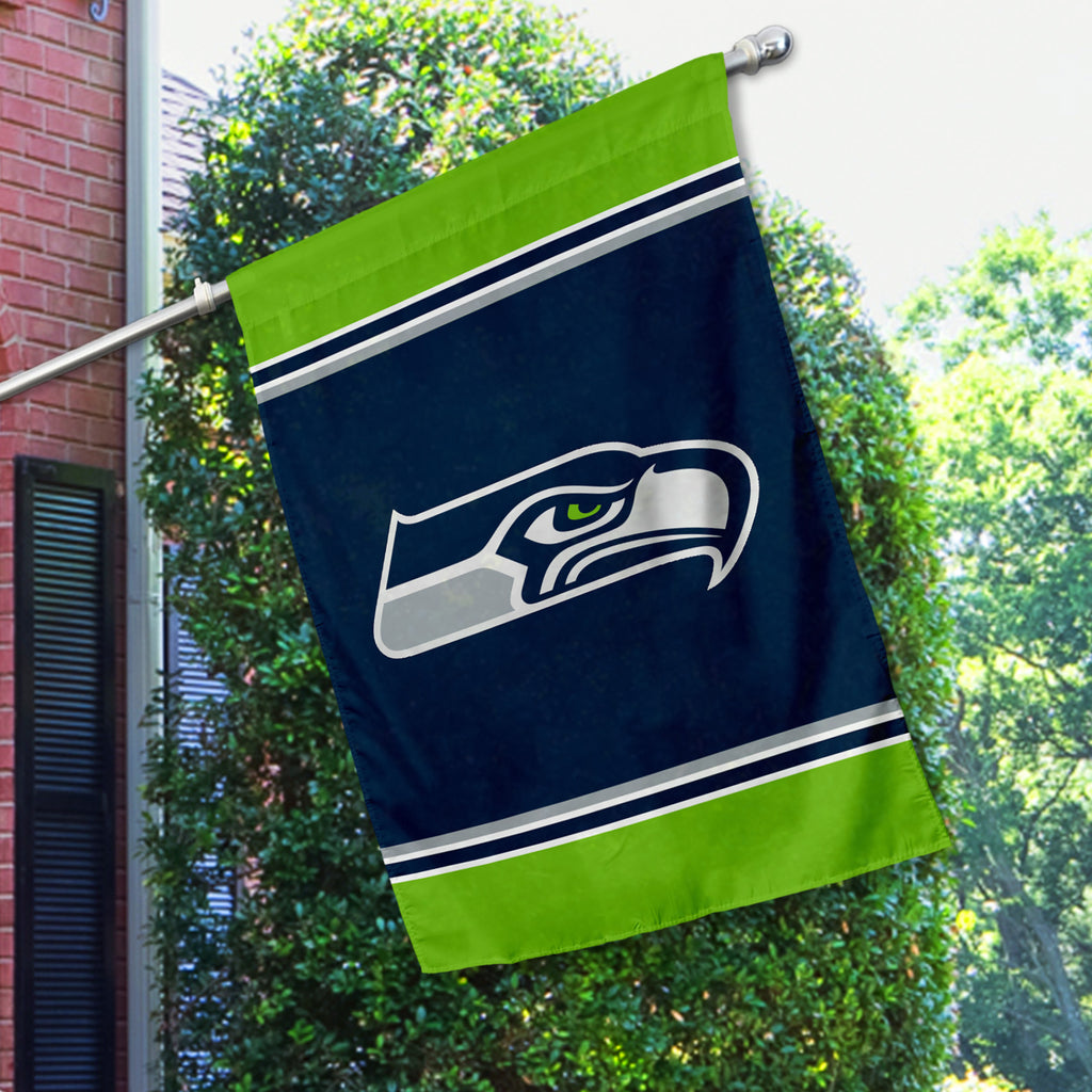 Seattle Seahawks House Flag (1-Sided)