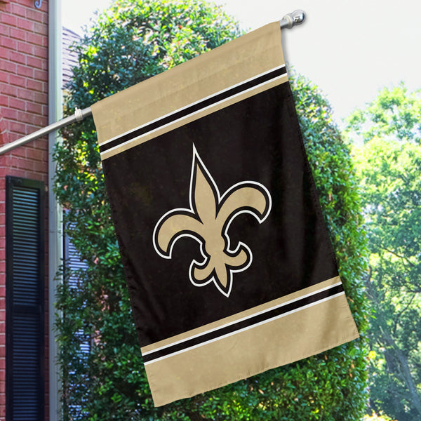 New Orleans Saints House Flag (1-Sided)