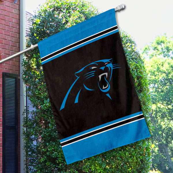 Carolina Panthers House Flag (1-Sided)