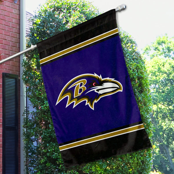 Baltimore Ravens House Flag (1-Sided)