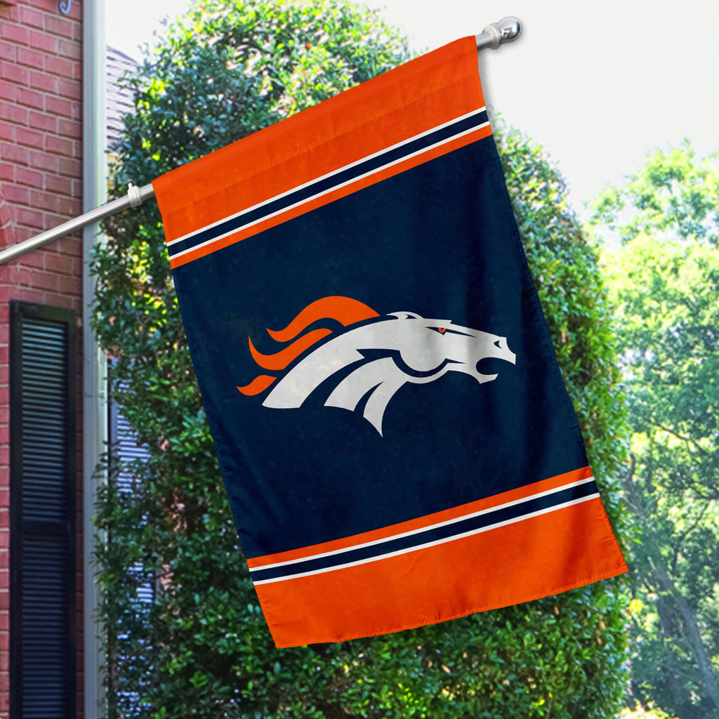Denver Broncos House Flag (1-Sided)