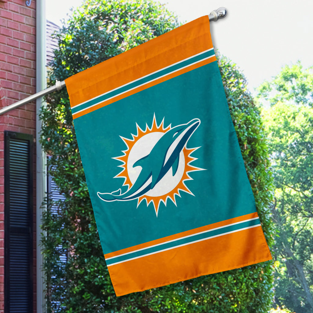 Miami Dolphins House Flag (1-Sided)