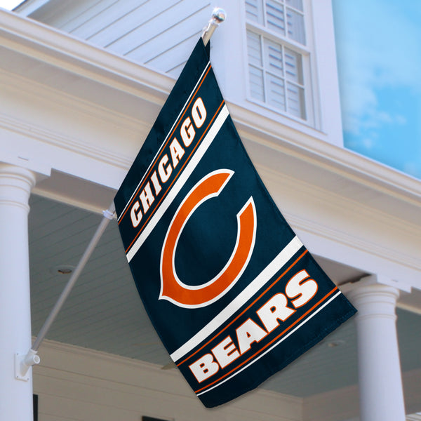 Chicago Bears House Flag (2-Sided)