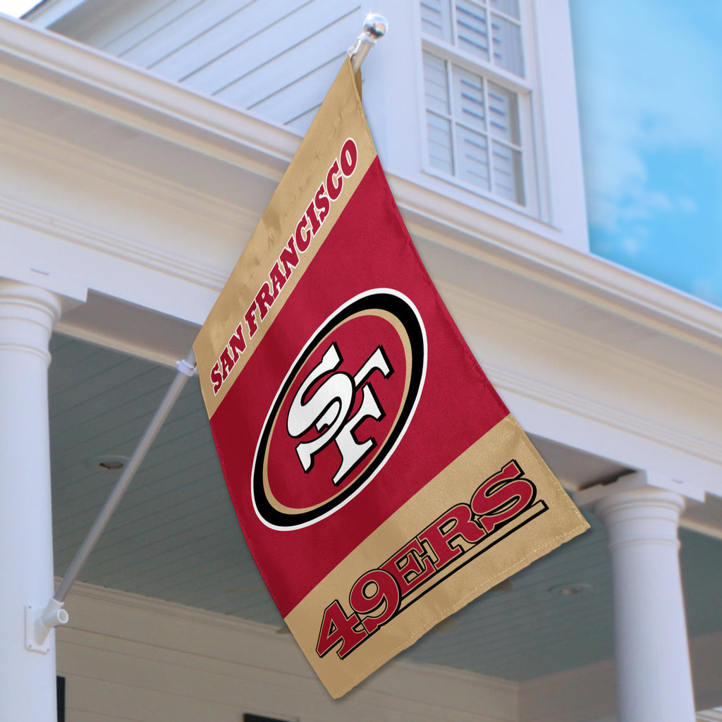 San Francisco 49ers House Flag (2-Sided)