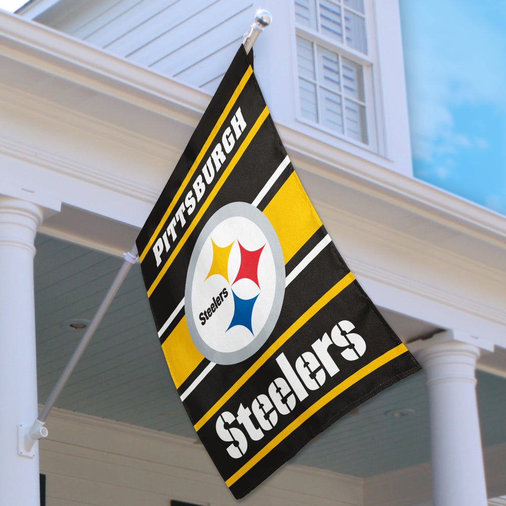 Pittsburgh Steelers House Flag (2-Sided)