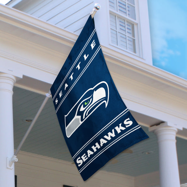 Seattle Seahawks House Flag (2-Sided)
