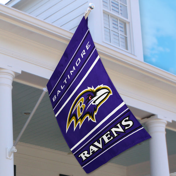 Baltimore Ravens House Flag (2-Sided)