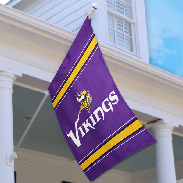 Minnesota Vikings House Flag (2-Sided)