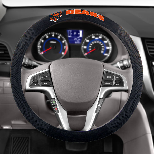 Chicago Bears Poly-Suede Steering Wheel Cover