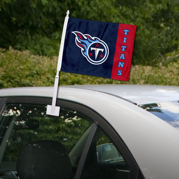 Tennessee Titans Stripe Car Flag