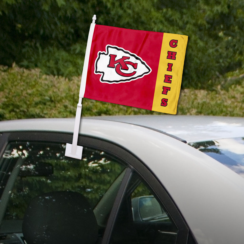 Kansas City Chiefs Split Car Flag