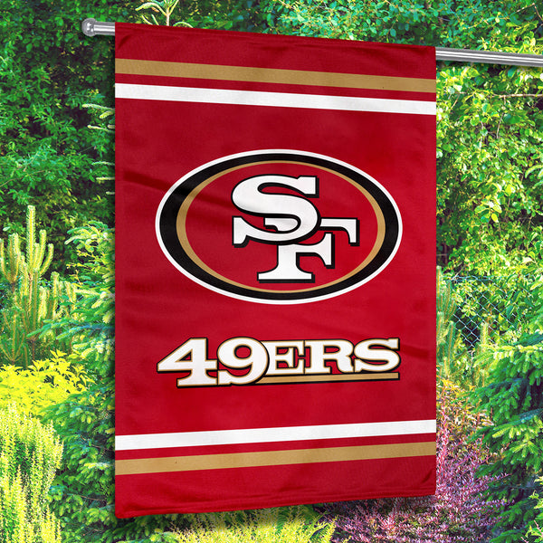 San Francisco 49ers Premium 2-Sided House Flag (Made in the USA)